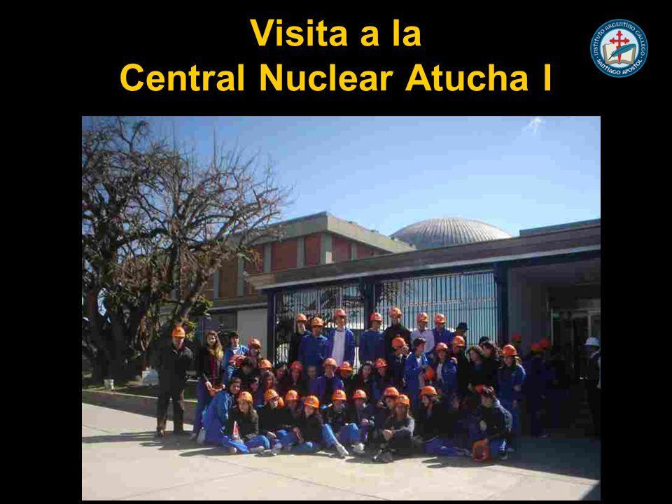Visita a la Central Nuclear Atucha I