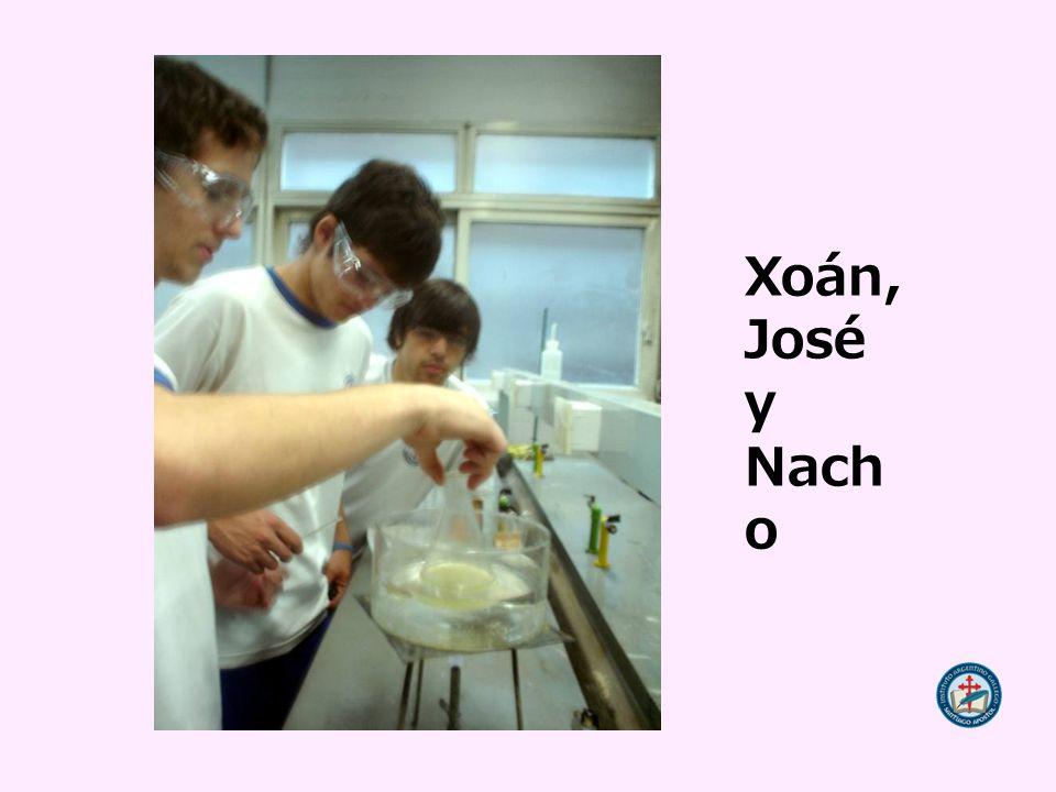 Xoán, José y Nacho