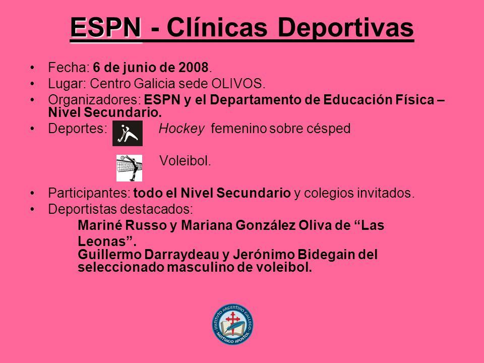 ESPN - Clínicas Deportivas