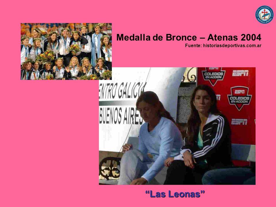 Medalla de Bronce – Atenas 2004