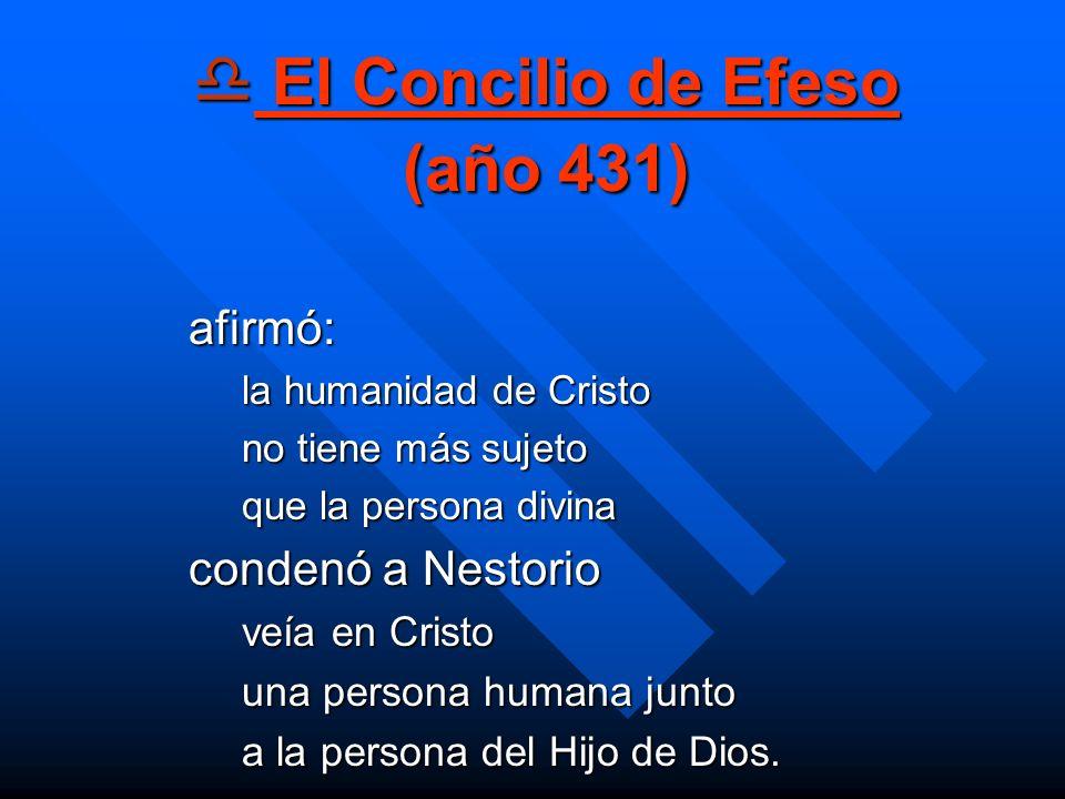 El Concilio de Efeso (año 431)