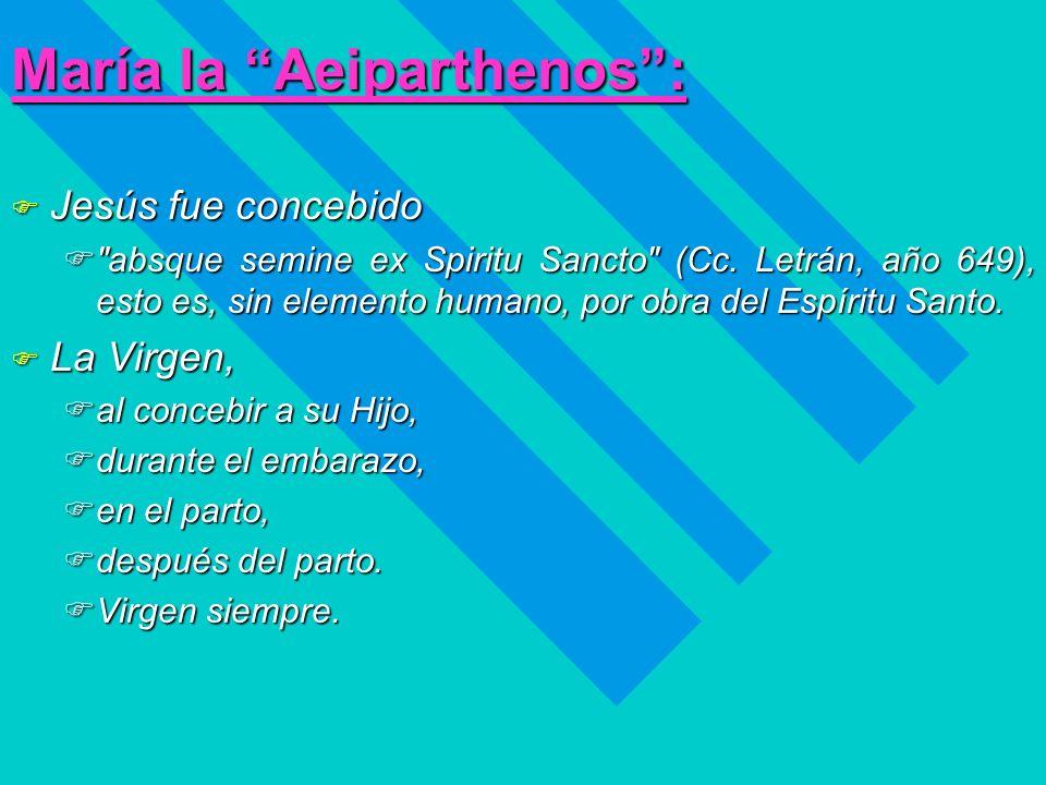 María la Aeiparthenos :