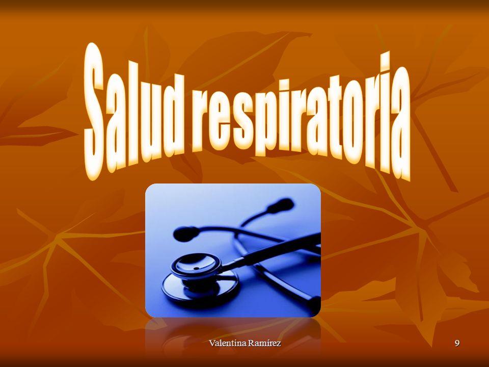 Salud respiratoria Valentina Ramírez