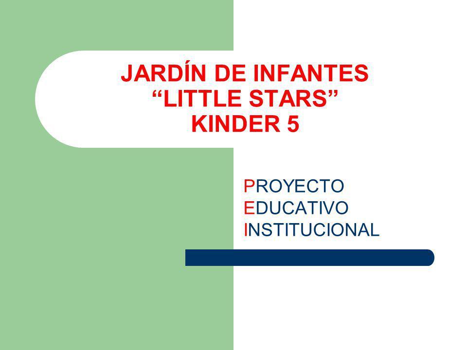 JARDÍN DE INFANTES LITTLE STARS KINDER 5