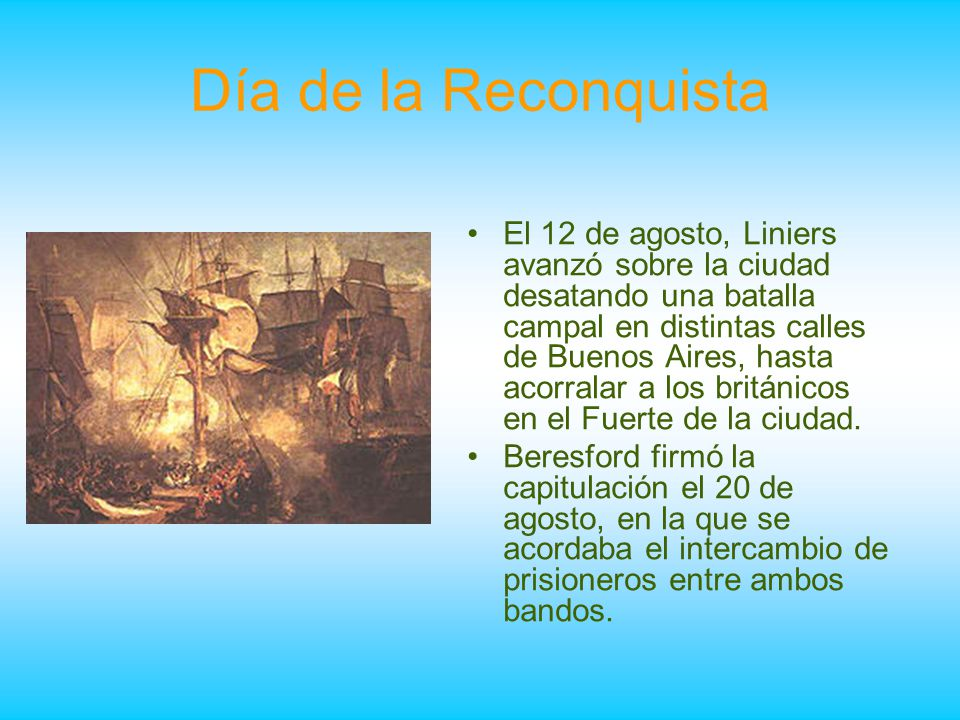Día de la Reconquista