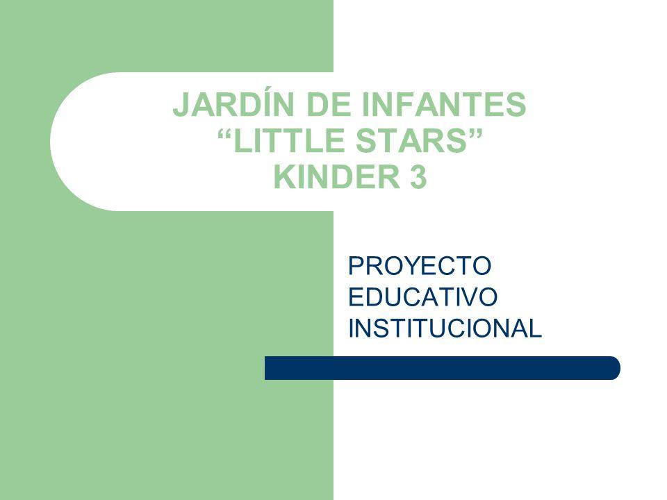 JARDÍN DE INFANTES LITTLE STARS KINDER 3