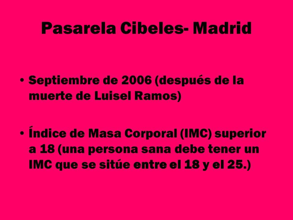 Pasarela Cibeles- Madrid