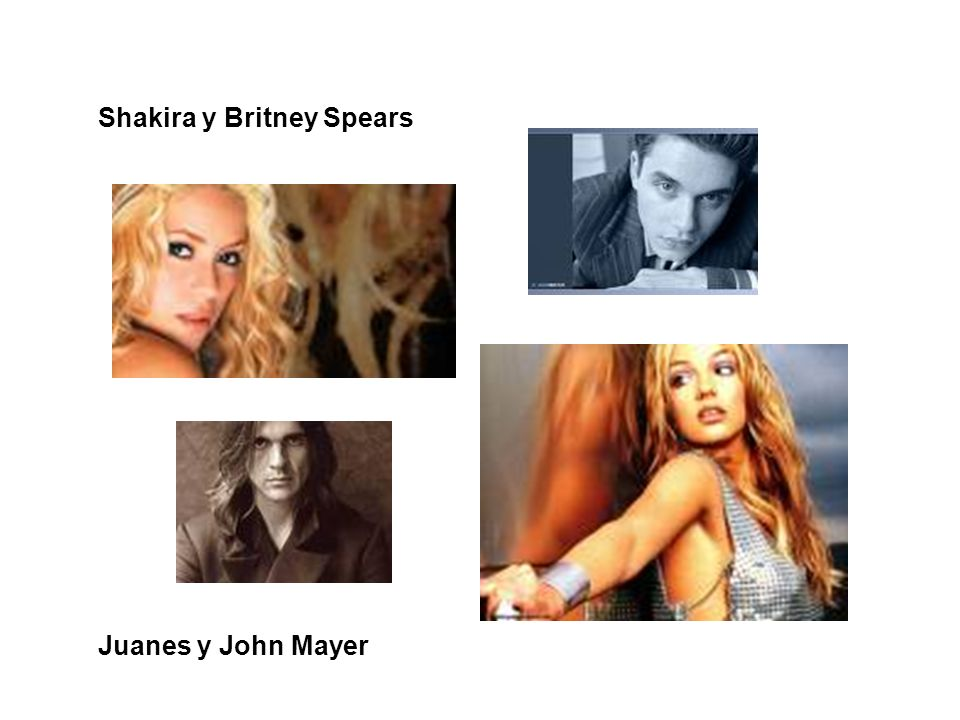 Shakira y Britney Spears