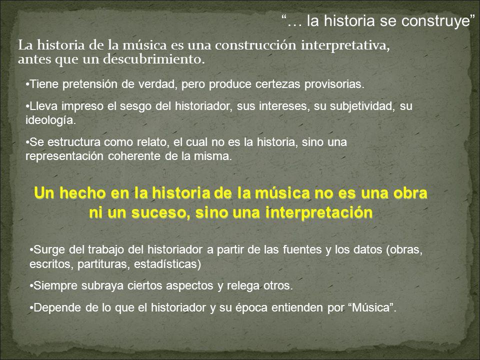 … la historia se construye