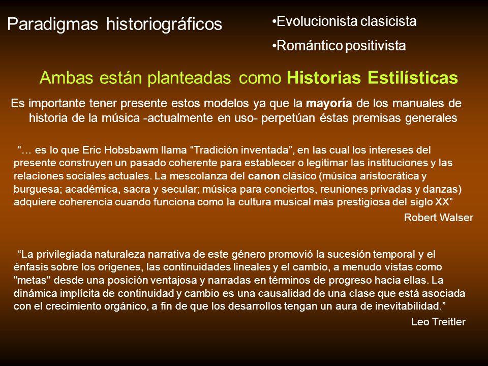Ambas están planteadas como Historias Estilísticas