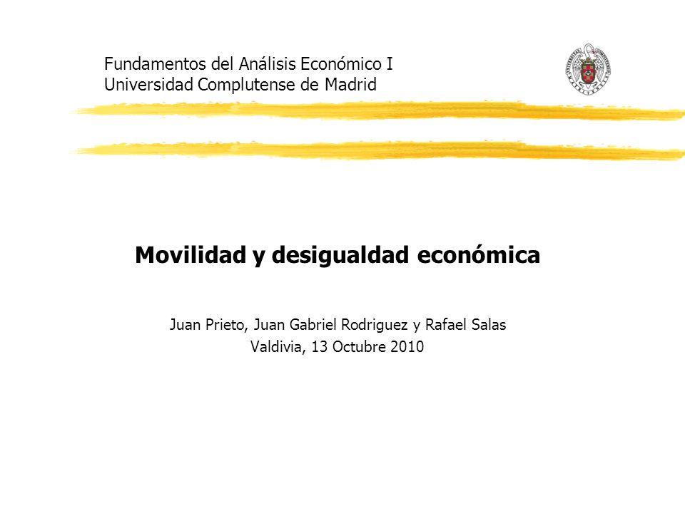 Fundamentos del Análisis Económico I Universidad Complutense de Madrid