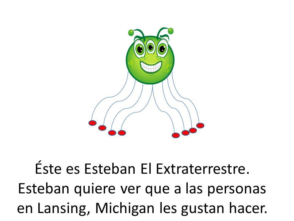 Éste es Esteban El Extraterrestre