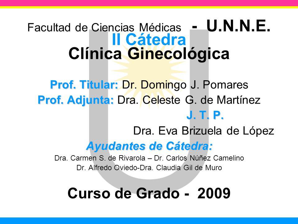 Facultad de Ciencias Médicas - U. N. N. E
