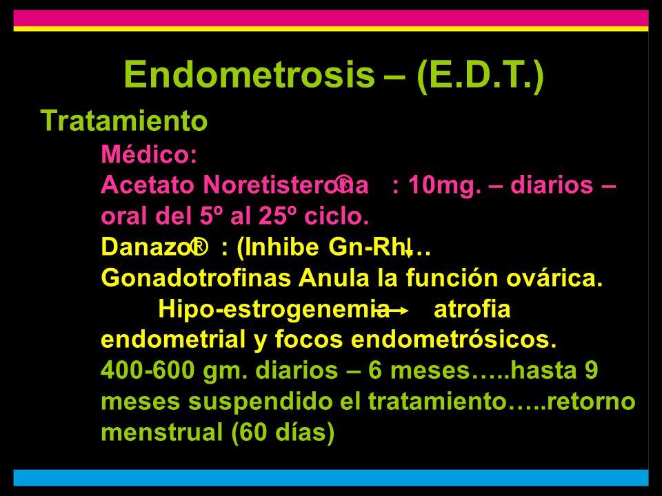 Endometrosis – (E.D.T.)