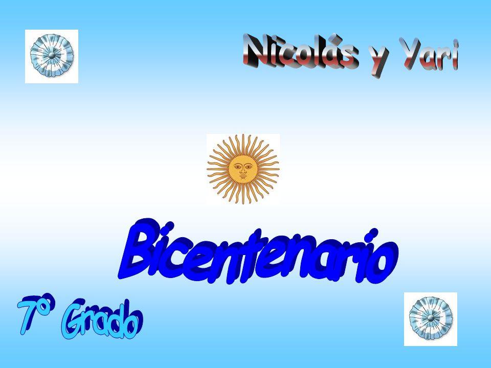Nicolás y Yari Bicentenario 7º Grado