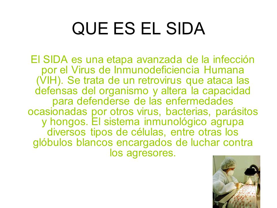 QUE ES EL SIDA