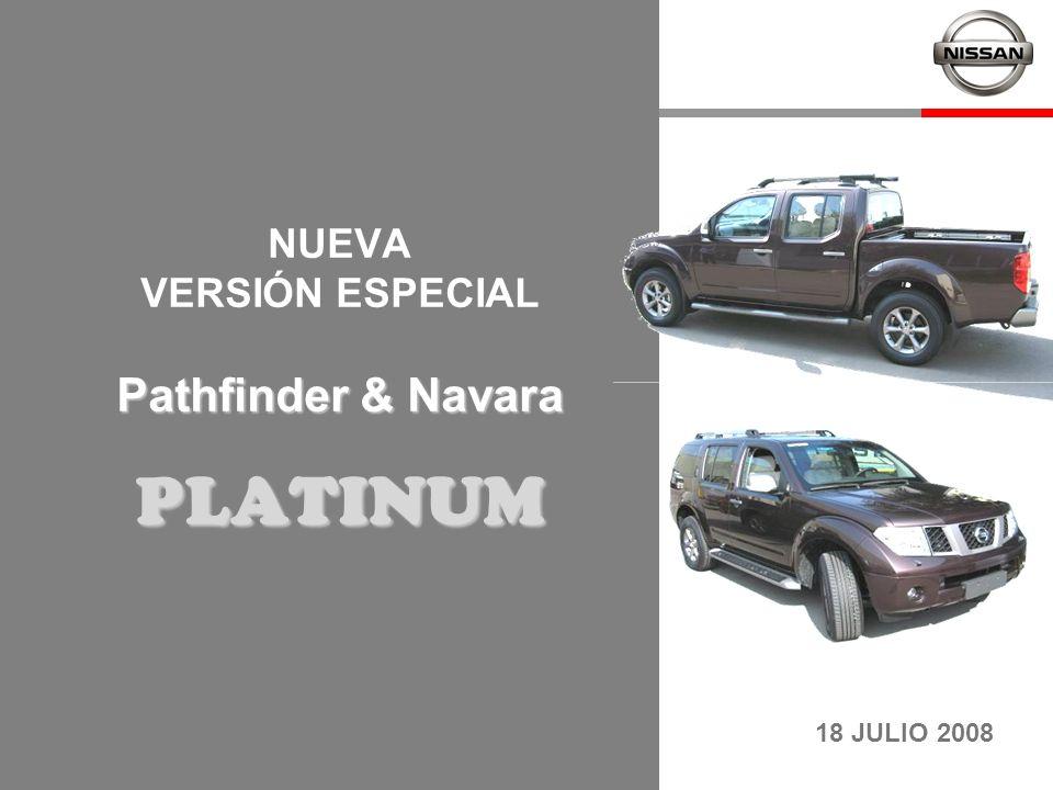 NUEVA VERSIÓN ESPECIAL Pathfinder & Navara PLATINUM