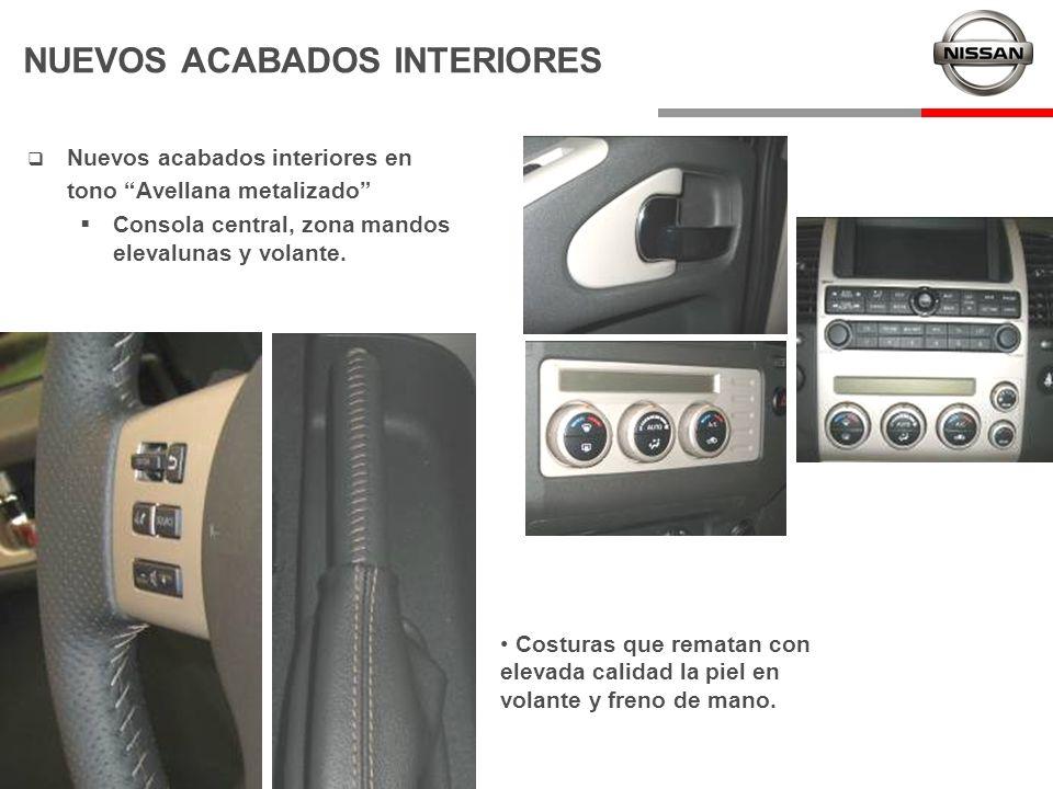 NUEVOS ACABADOS INTERIORES