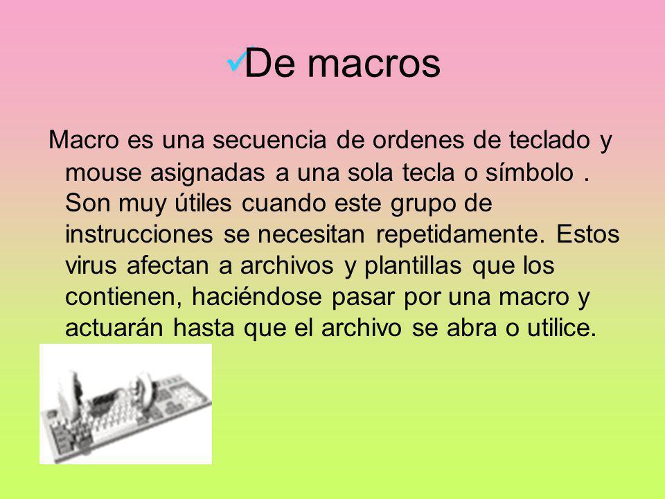 De macros