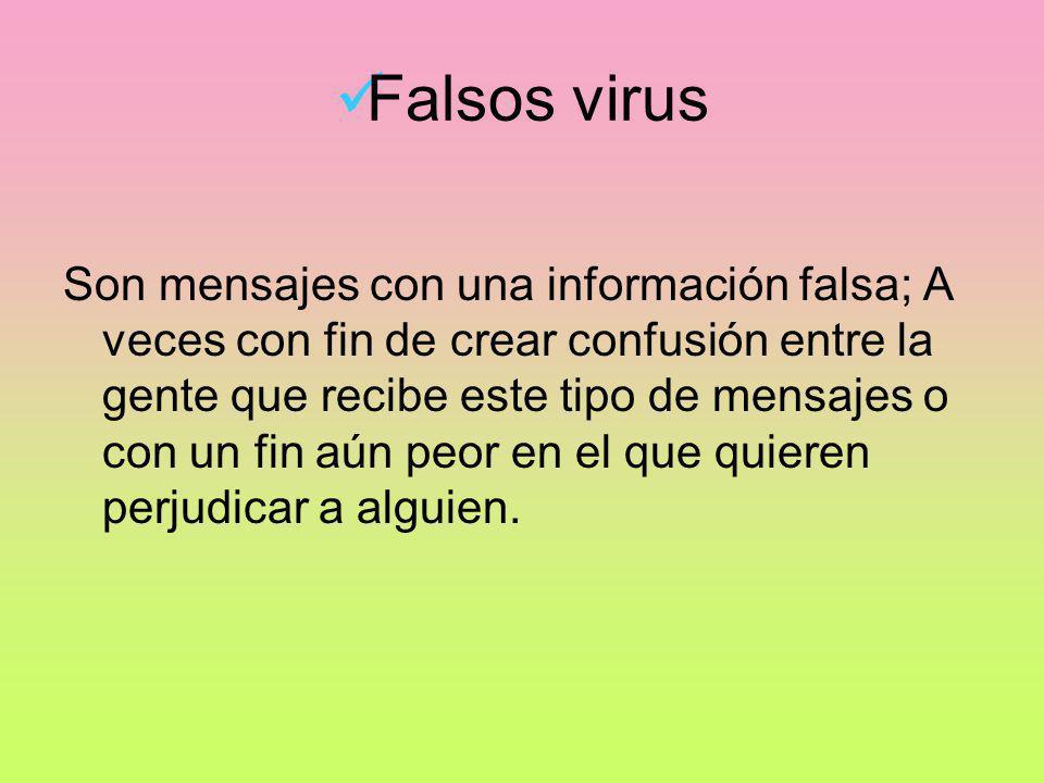 Falsos virus