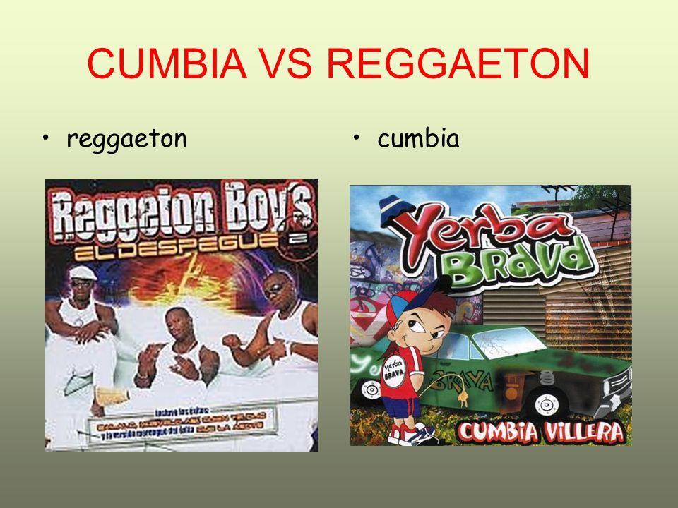 CUMBIA VS REGGAETON reggaeton cumbia