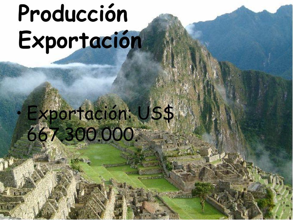 Producción Exportación