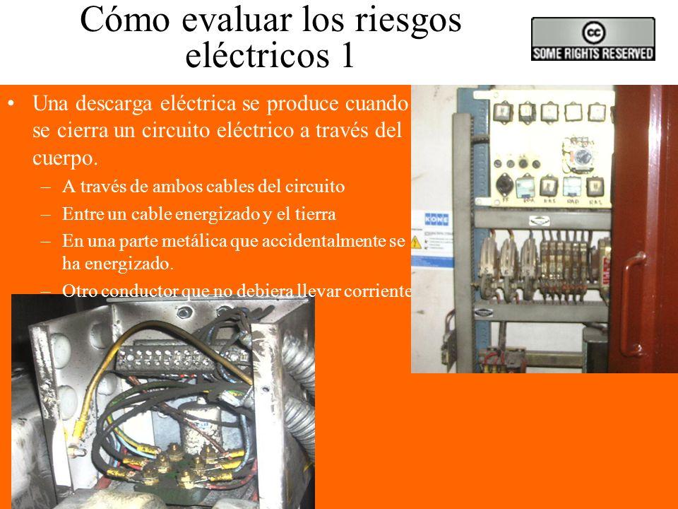 Cómo evaluar los riesgos eléctricos 1