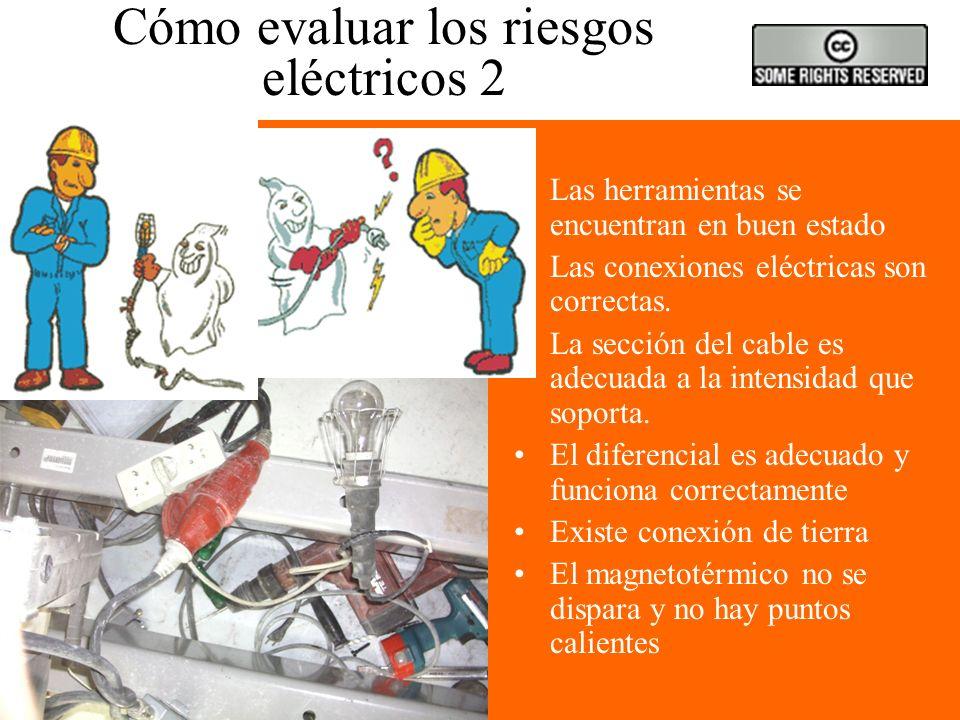 Cómo evaluar los riesgos eléctricos 2