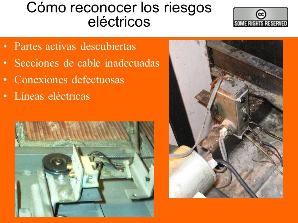 Cómo reconocer los riesgos eléctricos