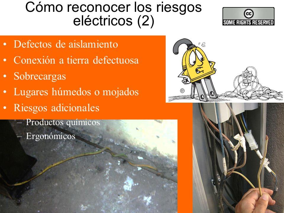 Cómo reconocer los riesgos eléctricos (2)