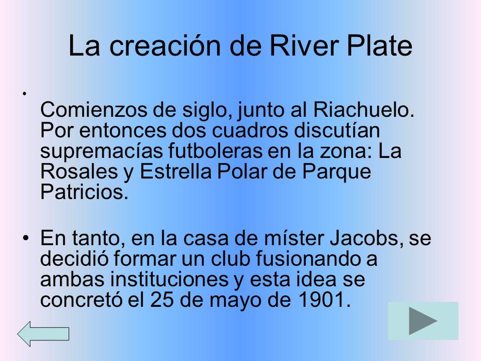 La creación de River Plate