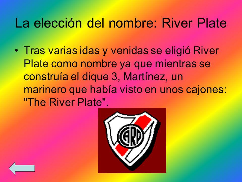 La elección del nombre: River Plate