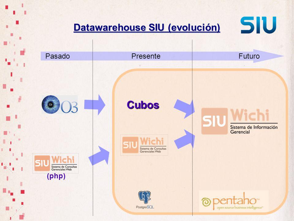 Datawarehouse SIU (evolución)