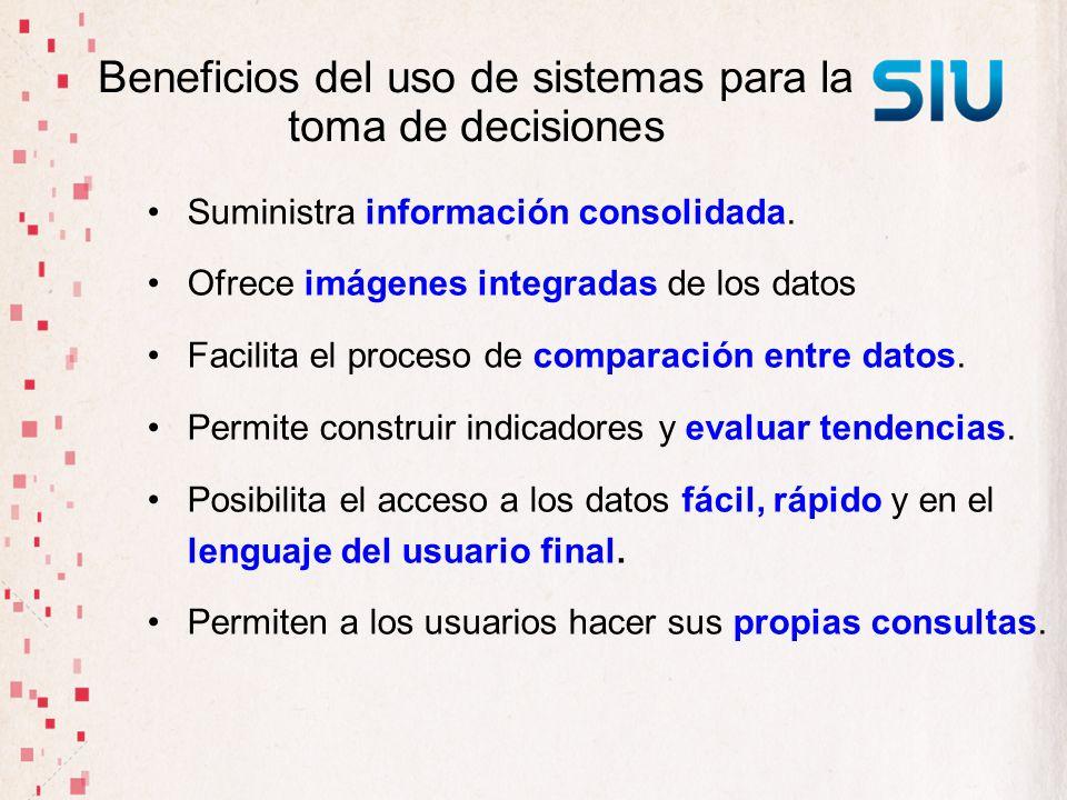 Beneficios del uso de sistemas para la toma de decisiones