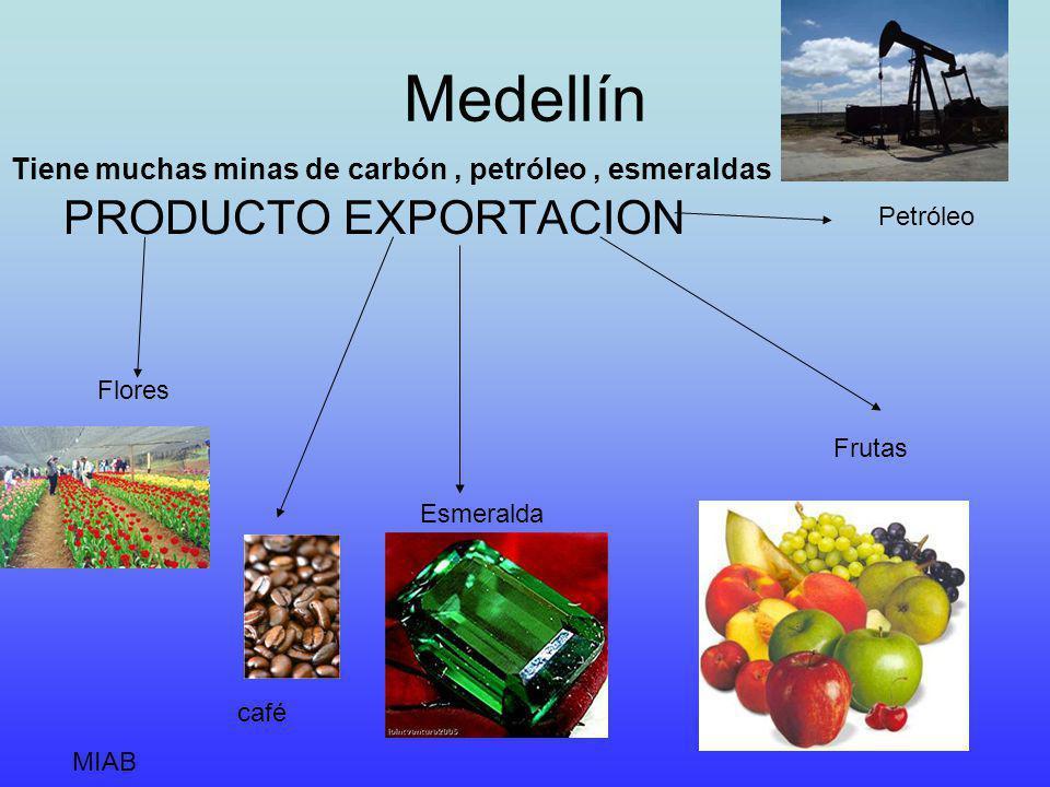 Medellín PRODUCTO EXPORTACION