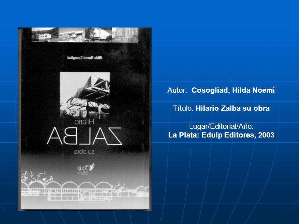La Plata: Edulp Editores, 2003