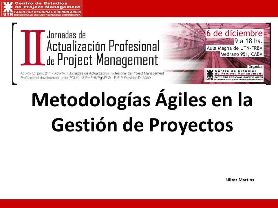 Metodologías Ágiles en la Gestión de Proyectos