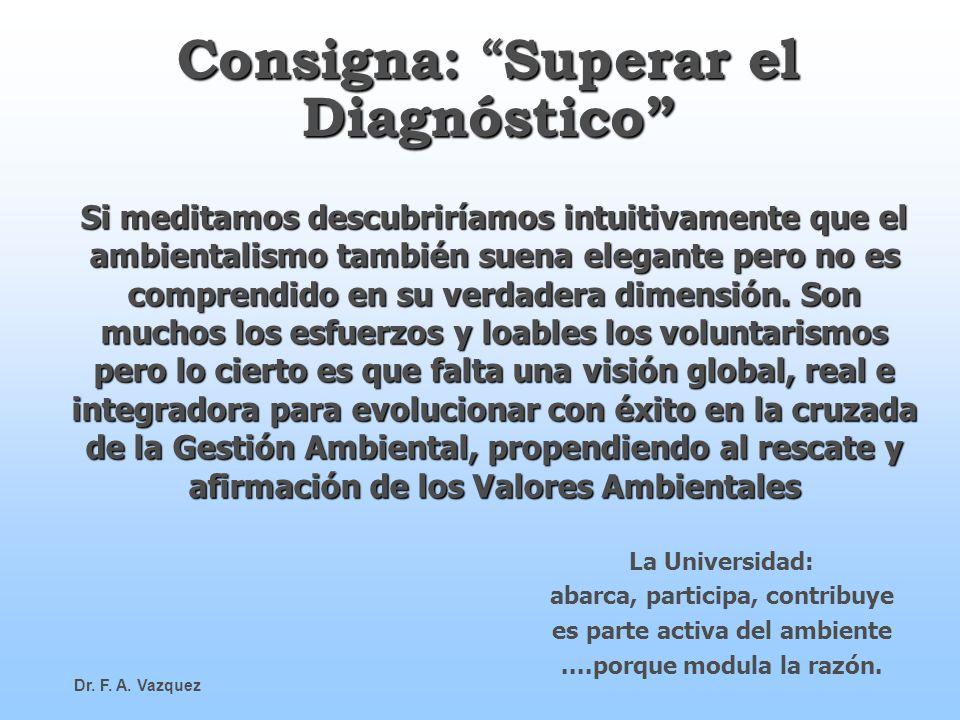 Consigna: Superar el Diagnóstico