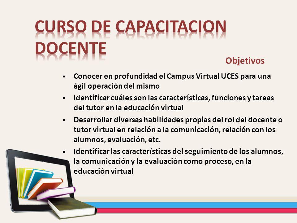 CURSO DE CAPACITACION DOCENTE