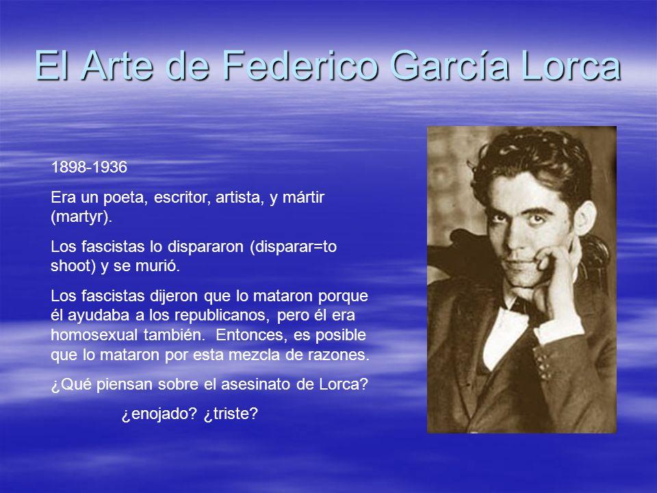 El Arte de Federico García Lorca