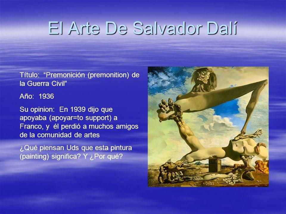 El Arte De Salvador Dalí