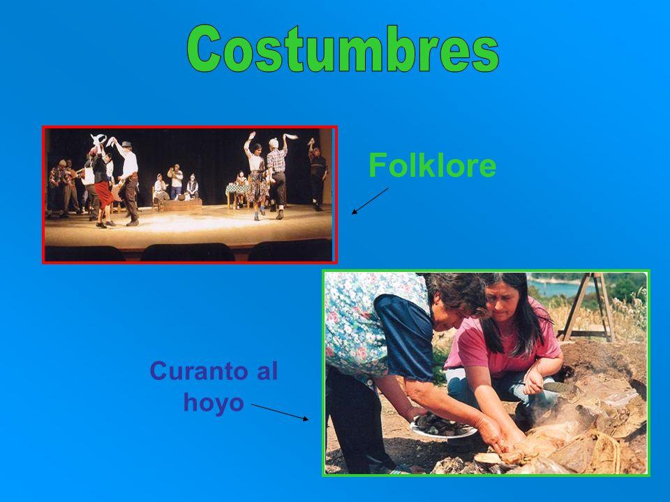 Costumbres Folklore Curanto al hoyo
