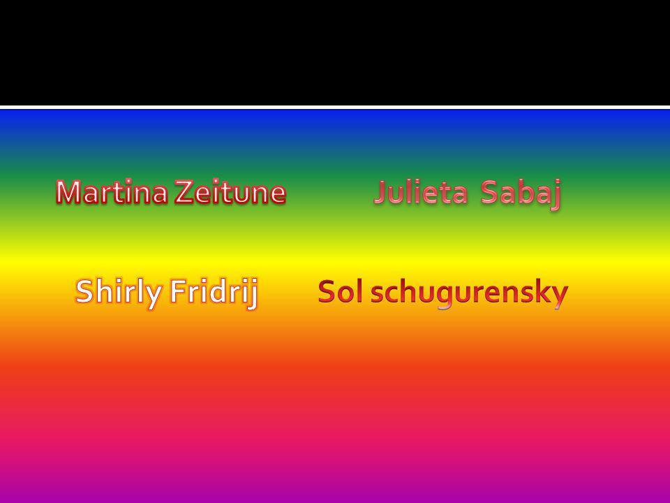 Julieta Sabaj Martina Zeitune Shirly Fridrij Sol schugurensky
