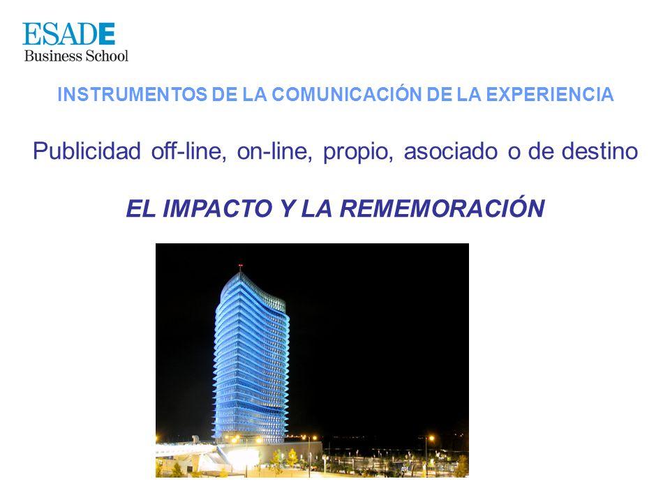 EL IMPACTO Y LA REMEMORACIÓN