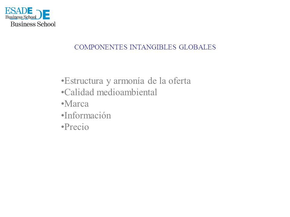 COMPONENTES INTANGIBLES GLOBALES