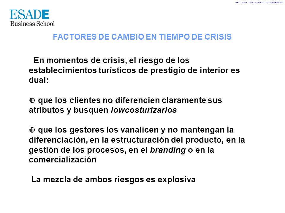 FACTORES DE CAMBIO EN TIEMPO DE CRISIS