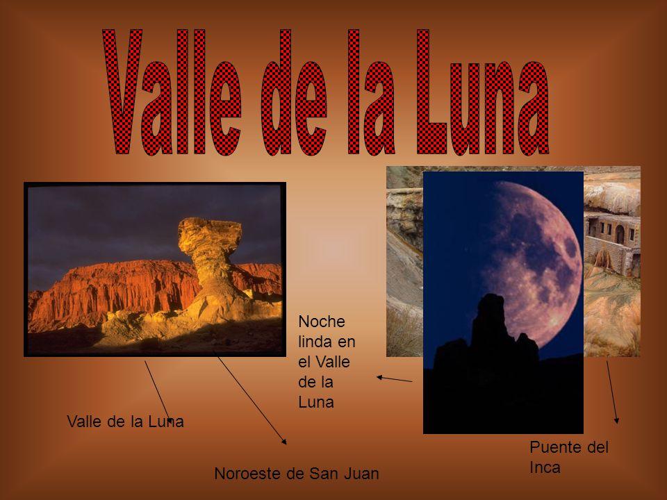 Valle de la Luna Noche linda en el Valle de la Luna Valle de la Luna