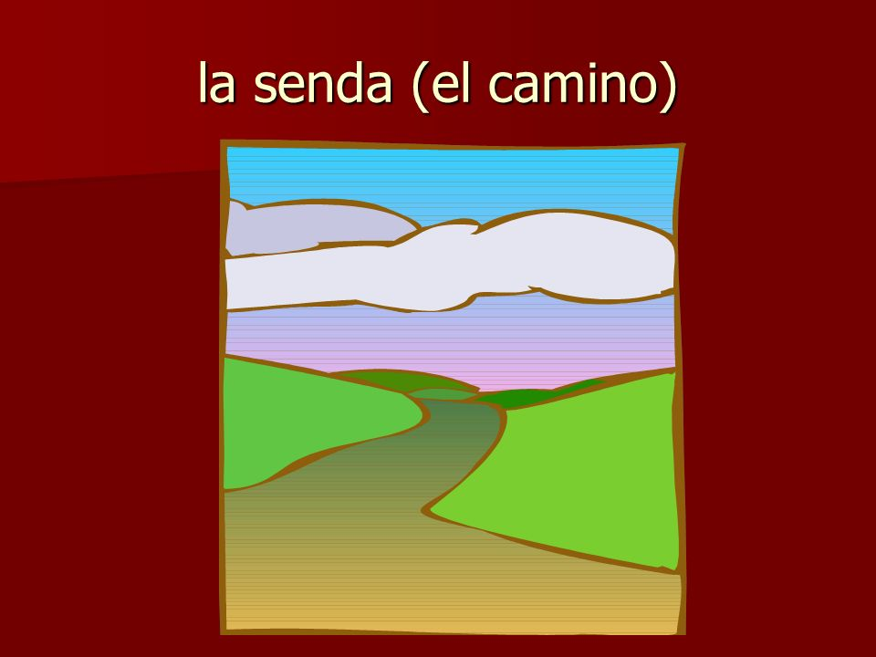 la senda (el camino)