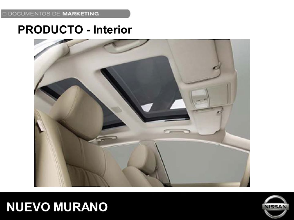PRODUCTO - Interior NUEVO MURANO