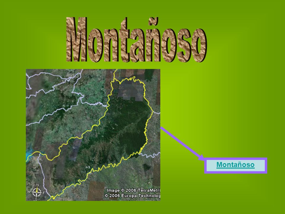Montañoso Montañoso